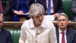 2019-01-15 美國之音視頻新聞: 英國下議院週二稍後決定脫歐協議命運