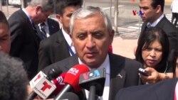 Presidente guatemalteco habla sobre la Cumbre