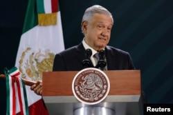 Meksika prezidenti Andres Manuel Lopez Obrador narko-kartellərə qarşı mübarizədə qeyri-effektiv olmaqda günahlandırılıb.