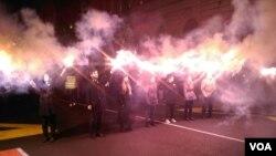 """Protest """"1 od 5 miiona"""" u Beogradu, 23. novembra 2019. (Foto: VOA)"""