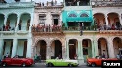 اتومبیل های آنتیک آمریکایی یکی از جاذبه های هاوانا است