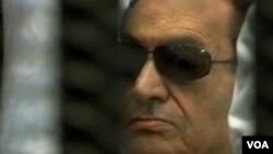 Tsohon shugaban Masar Hosni Mubarak.