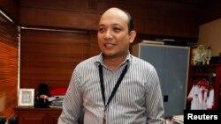 Penyidik Komisi Pemberantasan Korupsi (KPK) Novel Baswedan di kantor KPK, Jakarta (foto: dok).