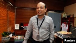 Penyidik Komisi Pemberantasan Korupsi (KPK) Novel Baswedan di kantor KPK, Jakarta, 26 Juni 2013 (Foto: dok).