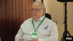 """""""Nosotros lo que exigimos y demandamos es que el gobierno se pronuncie"""", aseguró el exvicecanciller de Nicaragua y miembro de la opositora Alianza Cívica, José Pilláis."""
