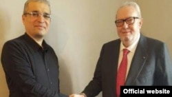 Pedro Agramunt Met today Ilgar Mammadov in detention