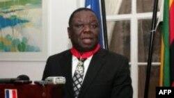 Tsvangirai honored by France