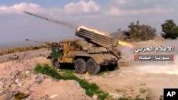 Suriya tanki, Hama shahrida