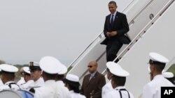 El incidente se habría producido antes del arribo del presidente Obama a Cartagena.