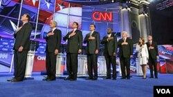 Los ocho candidatos republicanos que hasta el momento están en campaña planean participar de la primera votación en Iowa.