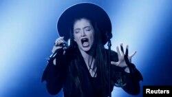 Singer Lorde performing earlier this year.