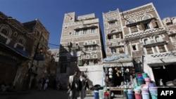 Столица Йемена Сана. 12 января 2010 года