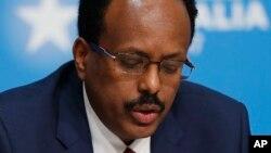 Shugaban kasar Somaliya Mohamed Abdullahi Mohamed Famajo