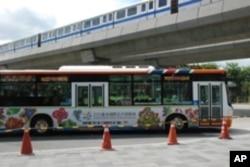 花博園區免費接駁巴士