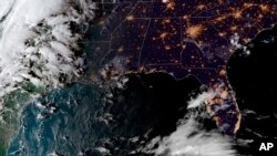 Ураган «Майкл» (снимок со спутника)