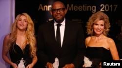 برندگان جایزه کریستا در ۴۷ مین مجمع جهانی اقتصاد
