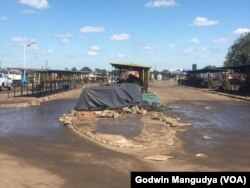 Mbare Musika after a coronavirus cleaning exercise in Harare ...