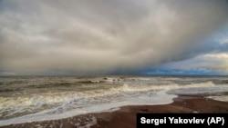 Онежский залив в Белом море
