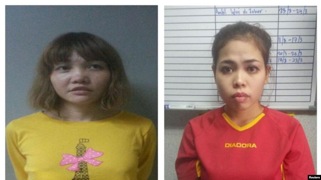 Cô Đoàn Thị Hương và công dân Indonesia Siti Aishah bị truy tố tội giết hại ông Kim Jong Nam.