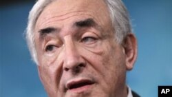 Shugaban Asusun IMF, Dominique Strauss-Kahn