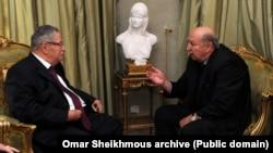 Omar Sheikhmous & Jalal Talabani