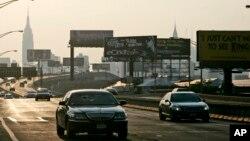 عکسی از بزرگراه لانگ آیلند که نوزاد جدید به این نام، نامیده شد.