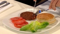 Artificial Burger Tastes Almost Real