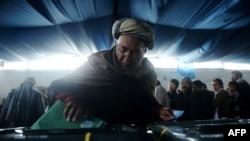 阿富汗人投票