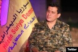 Panglima SDF, Jenderal Mazloum Abdi. (Foto: dok).