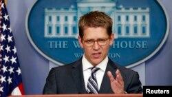 Jay Carney aseguró que aunque EE.UU. se mantiene alerta, no parecen haber pruebas claras de que Corea del Norte esté realmente planeando abrir fuego.