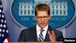 """El vocero presidencial, Jay Carney, dijo que Gran Bretaña comparte con EE.UU. la opinión de que el ataque fue """"abominable""""."""