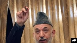 Hamid Karzai (file photo)