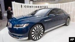 Lincoln comenzó a importar el nuevo Continental a China a fines de 2016.