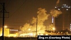 Nổ lớn tại nhà máy thép Formosa. Hình minh họa.