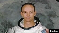 مائیکل کولنز 20 جولائی 1969 کو چاند پر پہنچنے والے خلائی جہاز اپالو 11کے پائلٹ تھے ۔