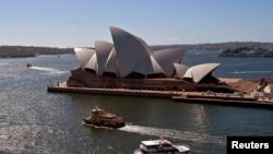 曾慶紅之子曾偉買的百年豪宅就坐落在悉尼歌劇院對面(資料照片)