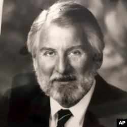 An undated family handout image shows Gary Ross Dahl, the creator of the wildly popular 1970s Pet Rock fad, who died at age 78 in southern Oregon.