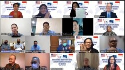 Virtual event in Jakarta and Washington, DC as VOA and Indonesian state broadcast sign a partnership agreement.