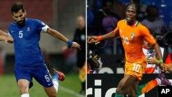 Coupe du monde dernier: Grèce Côte vs d'Ivoire