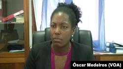 Maribel Rocha, diretora da PJ de São Tomé e Príncipe