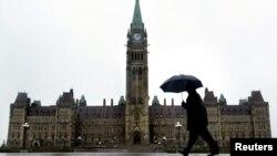 캐나다 오타와의 의회 건물. (자료사진)