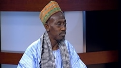 L'imam Papa Mboup au micro de Nathalie Barge