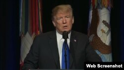 سخنرانی پرزیدنت ترامپ در پنتاگون درباره راهبرد جدید دفاع موشکی آمریکا - ۲۷ دی ۱۳۹۷