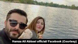 حمزہ علی عباسی اور اداکارہ نیمل خاور