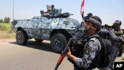 伊拉克政府軍掌控首都附近公路