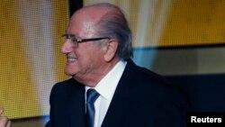 Joseph Baltter, le président de la Fédération internationale de footall association (Fifa).