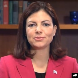 新當選的共和黨參議員艾約特發表回應每週回應演說