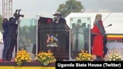 Museveni arahirira manda ya gatandatu yo kuyobora Uganda