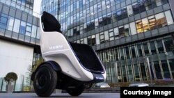 Segway's new S-Pod transporter is designed to be used in enclosed areas such as airports, amusement parks and shopping malls. (Photo: Segway)