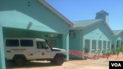 Gweru Provincial Hospital has 350 beds and the new Casualty Department is capable of handling 40 patients. (Photo: Taurai Shava)